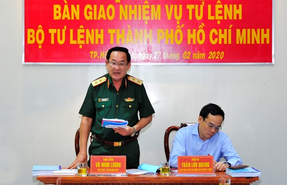 Thiếu tướng Nguyễn Văn Nam giữ chức Tư lệnh Bộ Tư lệnh TPHCM ảnh 4