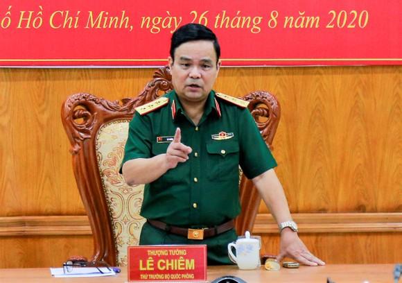 Thượng tướng Lê Chiêm, Thứ trưởng Bộ Quốc phòng: Tuyệt đối không được lợi dụng chức vụ, thẩm quyền để vụ lợi cá nhân ảnh 1