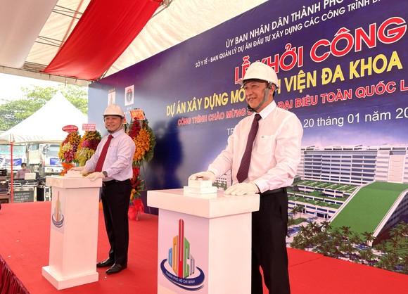 Khởi công xây dựng Bệnh viện Đa khoa khu vực Hóc Môn quy mô 1.000 giường ảnh 1