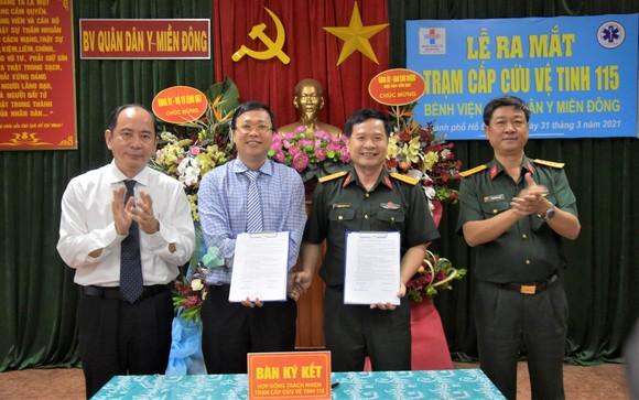Bệnh viện Quân dân y miền Đông chính thức trở thành trạm cấp cứu vệ tinh thứ 38 ảnh 2
