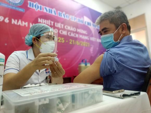 Bí thư Thành ủy TPHCM Nguyễn Văn Nên thăm Hội Nhà báo TPHCM ảnh 2