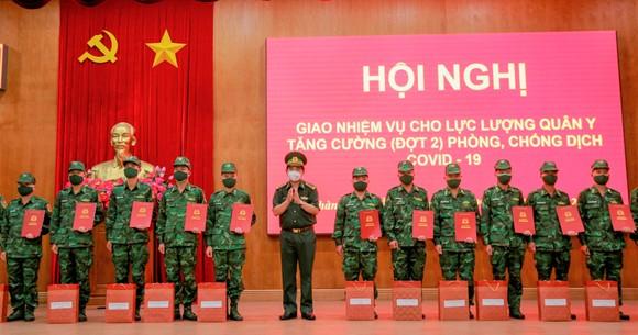 Bộ đội Biên phòng TPHCM tiếp nhận 34 bộ đội quân y hỗ trợ phòng chống dịch ảnh 2
