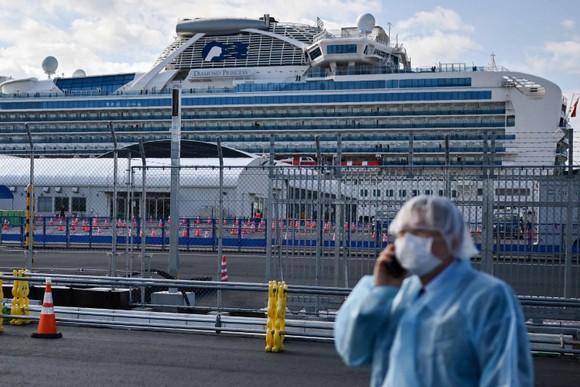 Thêm 79 hành khách trên Diamond Princess nhiễm Covid-19. Ảnh: Getty Images