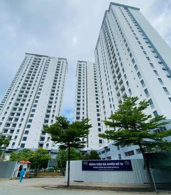 Bệnh viện dã chiến số 10 có quy mô 3.500 giường từ chung cư TDC của Novaland.