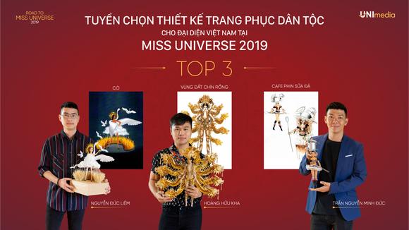 Công bố top 3 trang phục dân tộc cho Á hậu Hoàng Thùy tại Miss Universe 2019 ảnh 1