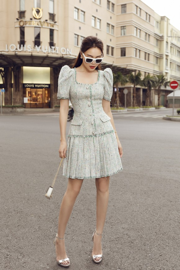 Ninh Dương Lan Ngọc gợi ý loạt váy diện dạo phố trong tiết trời se lạnh dịp cuối năm ở TPHCM ảnh 6
