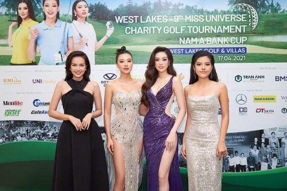 Giải Golf thiện nguyện Hoa Hậu Hoàn vũ Việt Nam quyên góp được 690 triệu đồng xây dựng 2 cây cầu tại tỉnh Long An ảnh 2