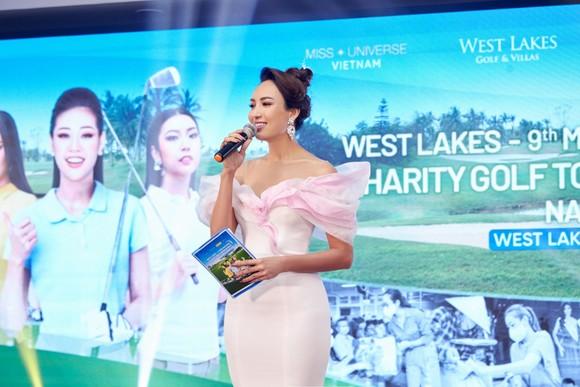 Giải Golf thiện nguyện Hoa Hậu Hoàn vũ Việt Nam quyên góp được 690 triệu đồng xây dựng 2 cây cầu tại tỉnh Long An ảnh 4