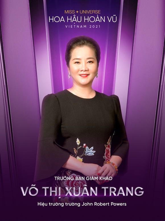 Công bố 3 giám khảo đầu tiên của Hoa hậu Hoàn vũ Việt Nam 2021 ảnh 1