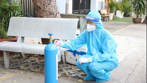Khai trương trạm bơm oxy ở quận 7 hỗ trợ 'ATM oxy'  ảnh 2