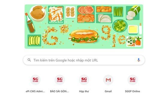 Today's Google Doodle is Vietnam's Banh Mi