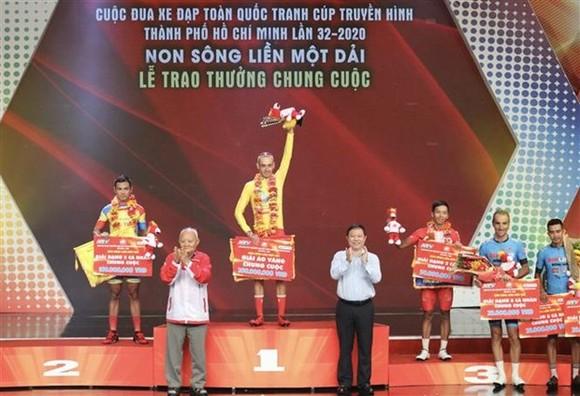 At the award ceremony (Photo: VNA)