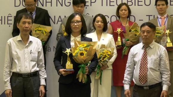 Saigontourist is honored at ASEAN Award 2020.