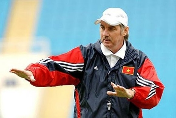 Former coach of the Vietnamese football team Alfred Riedl (Photo: SGGP)