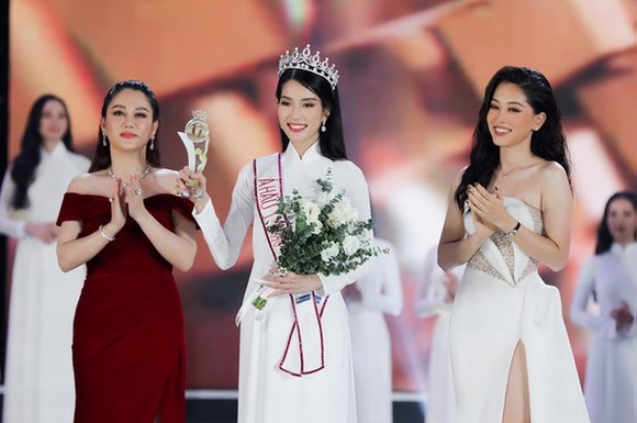 The first runner-up of Miss Vietnam 2020, Pham Ngoc Phuong Anh