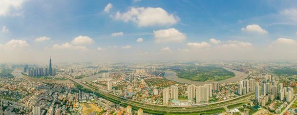Thu Duc City is established on the basis of merging three eastern districts of Thu Duc, 2 and 9. (Photo: SGGP)