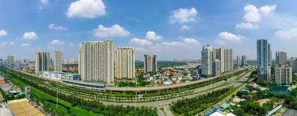The eastern part of HCMC (Photo: SGGP)