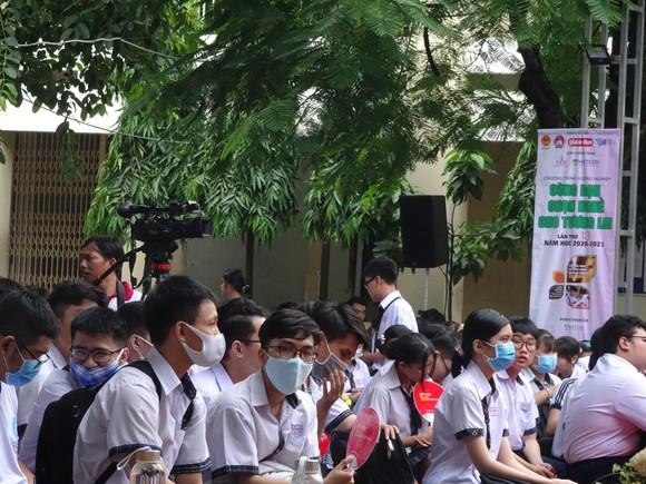 TPHCM: Tư vấn, hướng nghiệp cho học sinh lớp 12 của hơn 100 trường THPT   ảnh 3