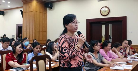 TPHCM: Bàn giải pháp khắc phục khó khăn của chương trình GDPT mới ảnh 1
