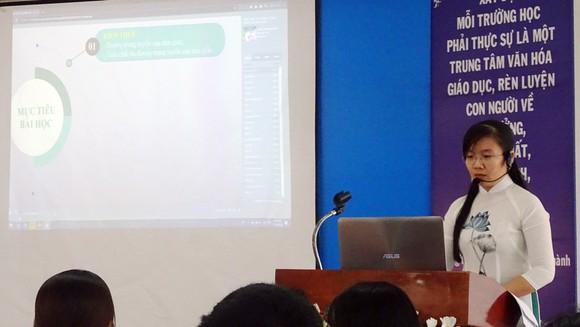 Quận Tân Bình tổ chức vòng chung khảo Cuộc thi 'Thiết kế bài giảng sáng tạo trên phần mềm' ảnh 1