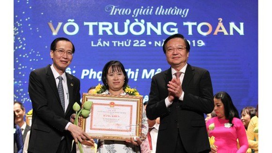 TPHCM vinh danh 50 cán bộ quản lý, giáo viên đạt giải thưởng Võ Trường Toản lần thứ 23 năm 2020 ảnh 1