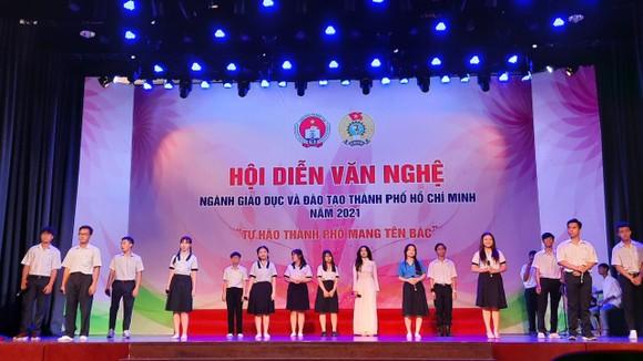 58 tiết mục tham gia hội diễn văn nghệ ngành giáo dục TPHCM 2021 ảnh 1