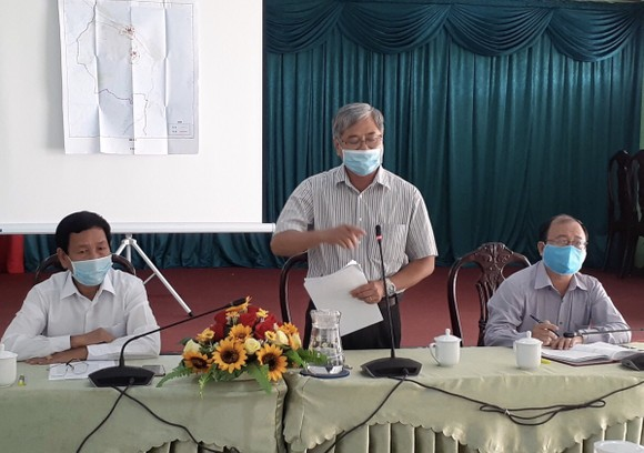 Lãnh đạo tỉnh thị sát tình hình và chỉ đạo trực tiếp tại khu xã Thừa Đức