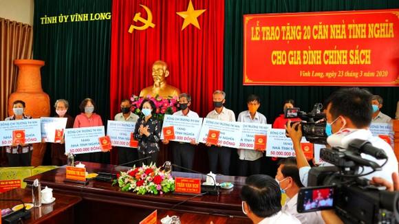 Đồng chí Trương Thị Mai dự đại hội Đảng ở xã điểm Tân Hạnh tại Vĩnh Long ảnh 2