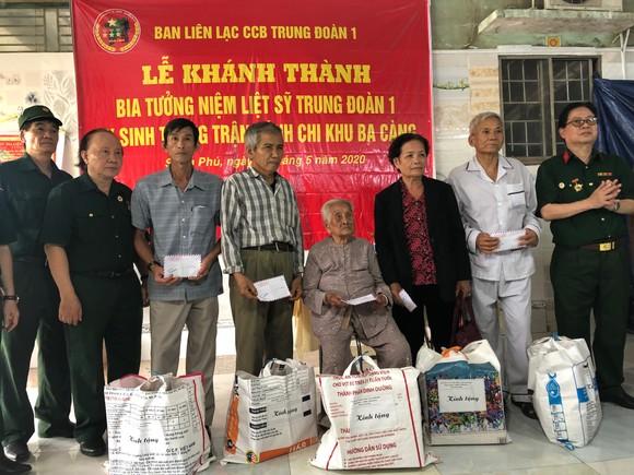 Khánh thành Bia tưởng niệm liệt sĩ Trung đoàn 1 hy sinh trong trận đánh chi khu Ba Càng ảnh 3