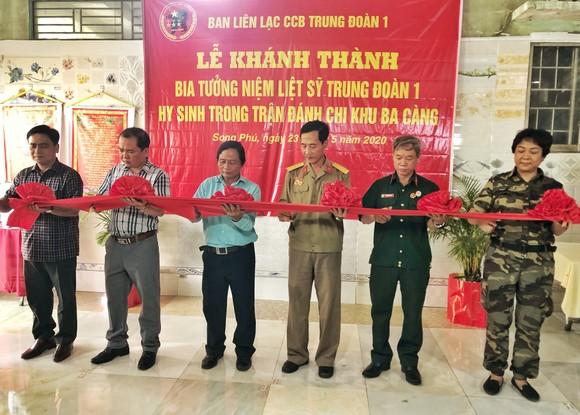 Khánh thành Bia tưởng niệm liệt sĩ Trung đoàn 1 hy sinh trong trận đánh chi khu Ba Càng ảnh 2