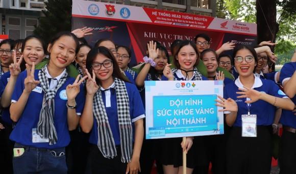 Tuổi trẻ ngành y TPHCM ra quân tình nguyện vì cộng đồng ảnh 1