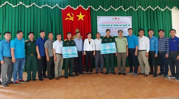 Nhiều công trình dân sinh hỗ trợ tỉnh Bình Phước ảnh 1