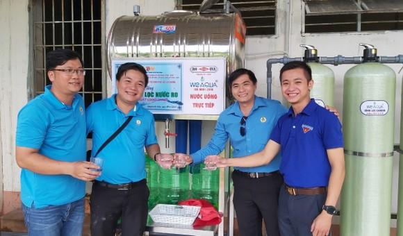 Khánh thành hệ thống lọc nước sạch tặng chiến sĩ tại tỉnh Bình Phước