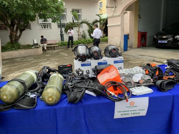 Tập đoàn Hưng Thịnh tặng trang thiết bị PCCC hiện đại cho TPHCM   ảnh 2