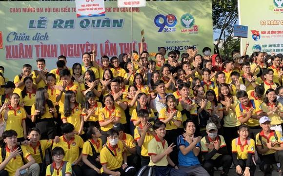 Tuổi trẻ TPHCM ra quân tình nguyện mùa xuân ảnh 4