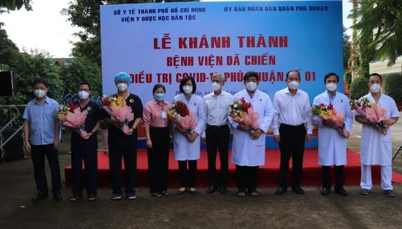 Trường THPT Phú Nhuận thành bệnh viện điều trị F0 ảnh 3