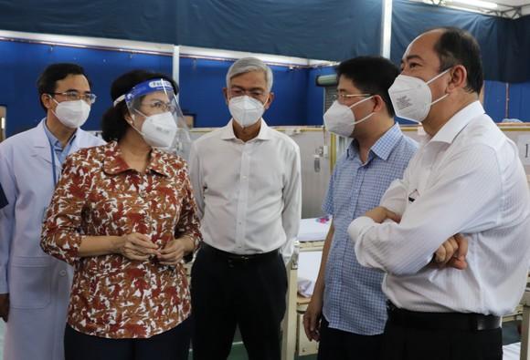 Trường THPT Phú Nhuận thành bệnh viện điều trị F0 ảnh 2