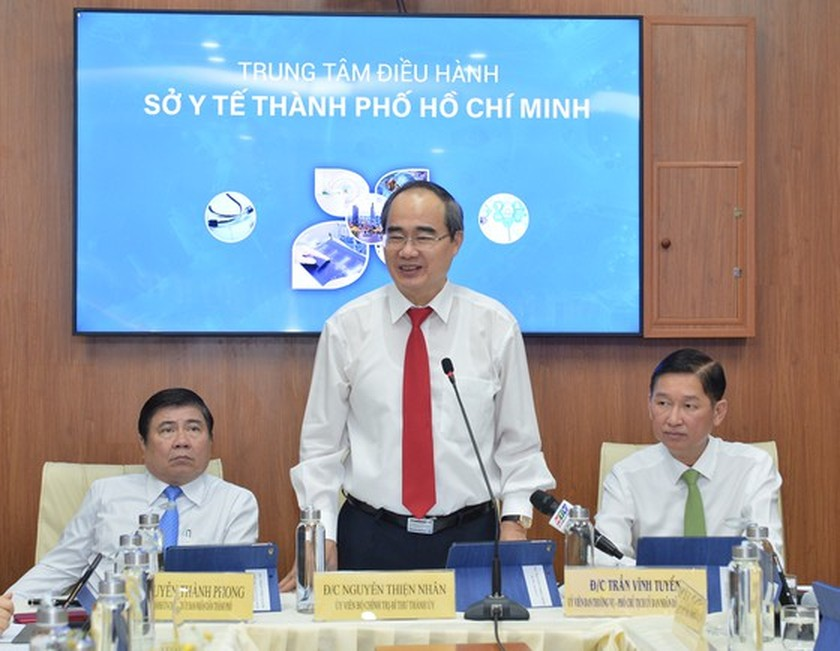 Operation centers for smart health, education link with city's manpower development: Party Chief ảnh 1