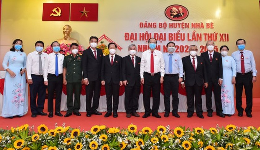 Nha Be should set up new 4.0 hi-tech service area to attract firms: Party Chief Nhan ảnh 1