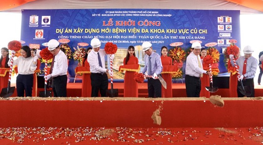 HCMC starts to build US$80 million general hospital in Cu Chi outlying district ảnh 2