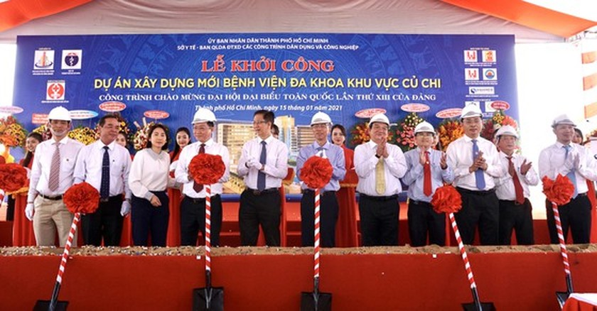 HCMC starts to build US$80 million general hospital in Cu Chi outlying district ảnh 3