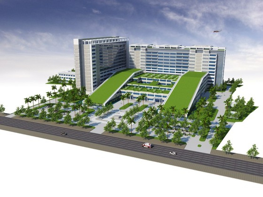 One more general hospital with 1,000 beds to be built to welcome 13th National Party Congress ảnh 3