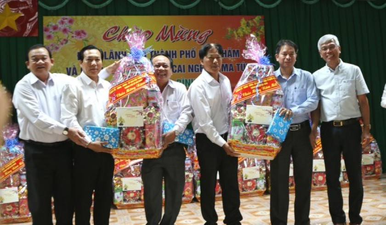 HCMC leader visits drug rehabilitation centers on Tet occasion ảnh 2