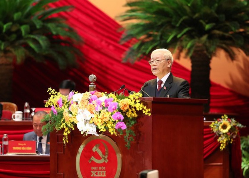 Opening of 13th National Party Congress a magnet to int'l media ảnh 1