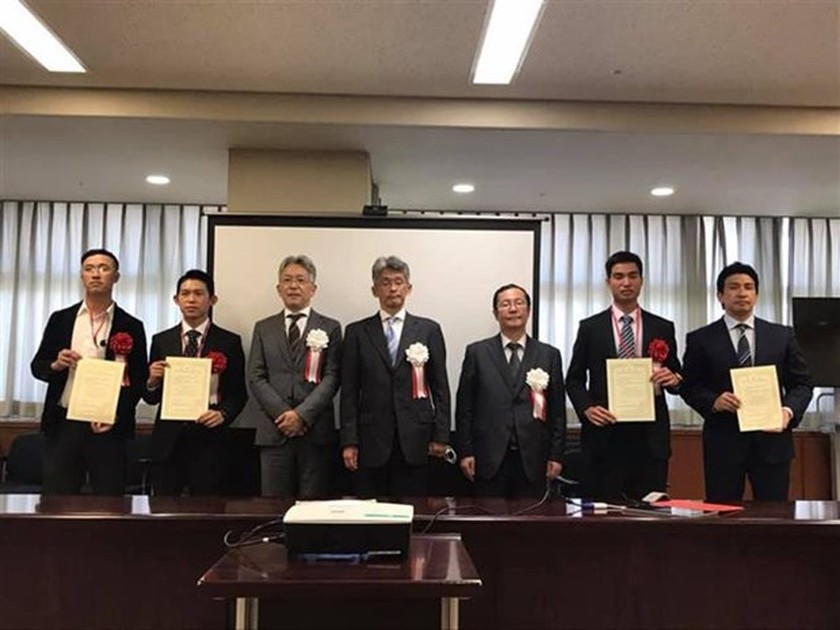 Four Vietnamese honoured as excellent foreign workers in Japan ảnh 1