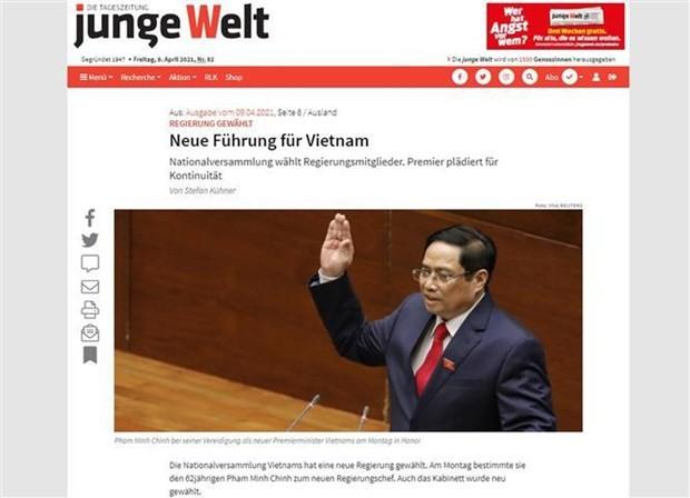 German media spotlights Vietnam's new leadership ảnh 1