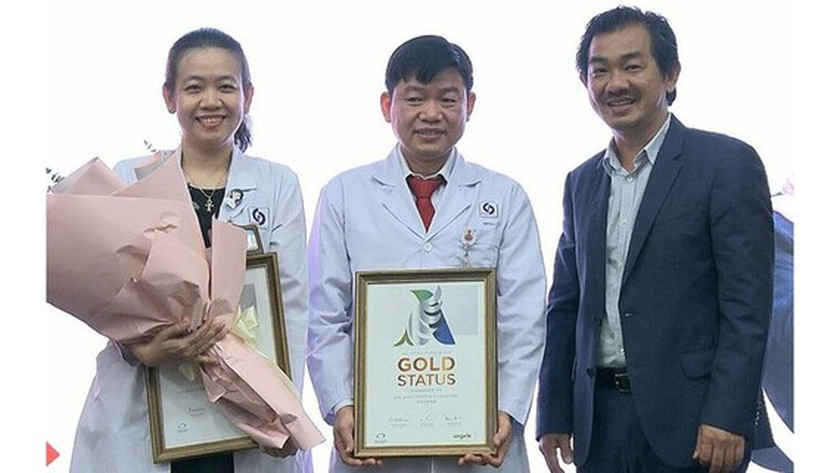 Gia Dinh People's Hospital in HCMC given WSO's Golden Status ảnh 1