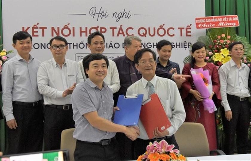 International cooperation open up more opportunities for students in vocational training schools ảnh 1