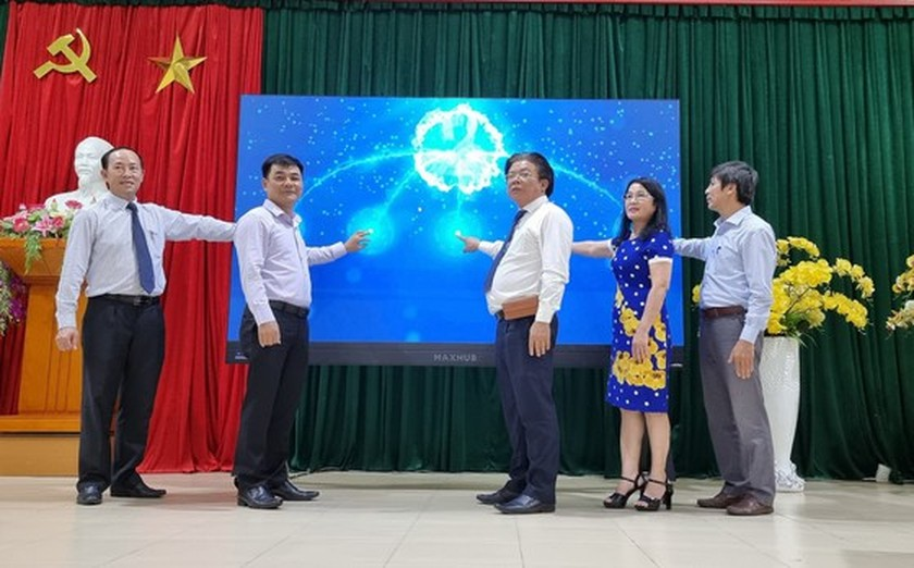 Smart Education Operations Center in Quang Nam inaugurated ảnh 1