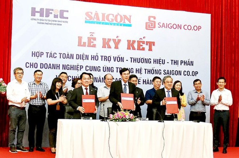 HFIC, SGGP, Saigon Co.op cooperate to support Vietnamese enterprises ảnh 1